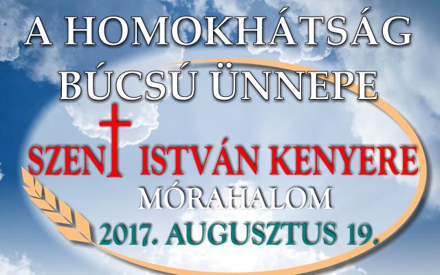 A Homokhátság búcsú ünnepe – augusztus 19.