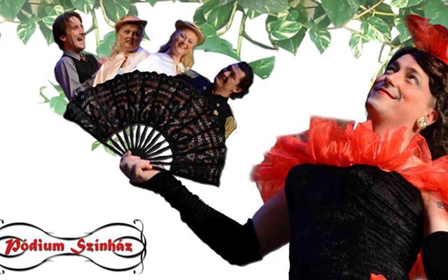 CHARLEY NÉNJE – zenés vígjáték a Pódium Színház előadásában november 13-án