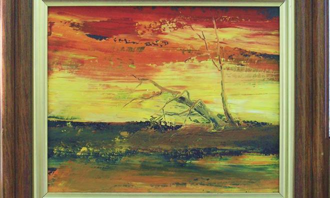 Simonics János festőművész kiállítása