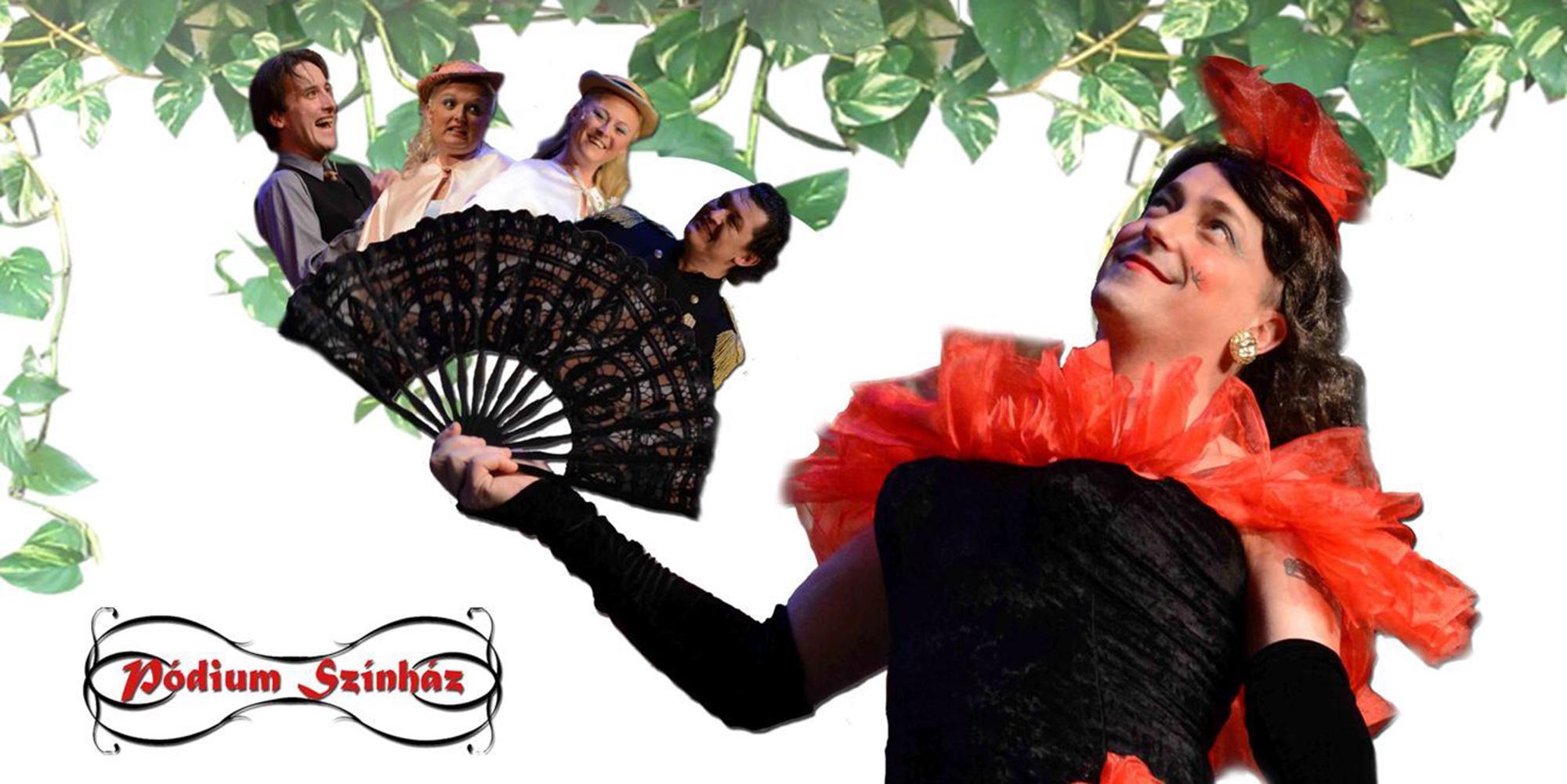 Charly nénje -  a Pódium Színház zenés vígjátéka november 13-án